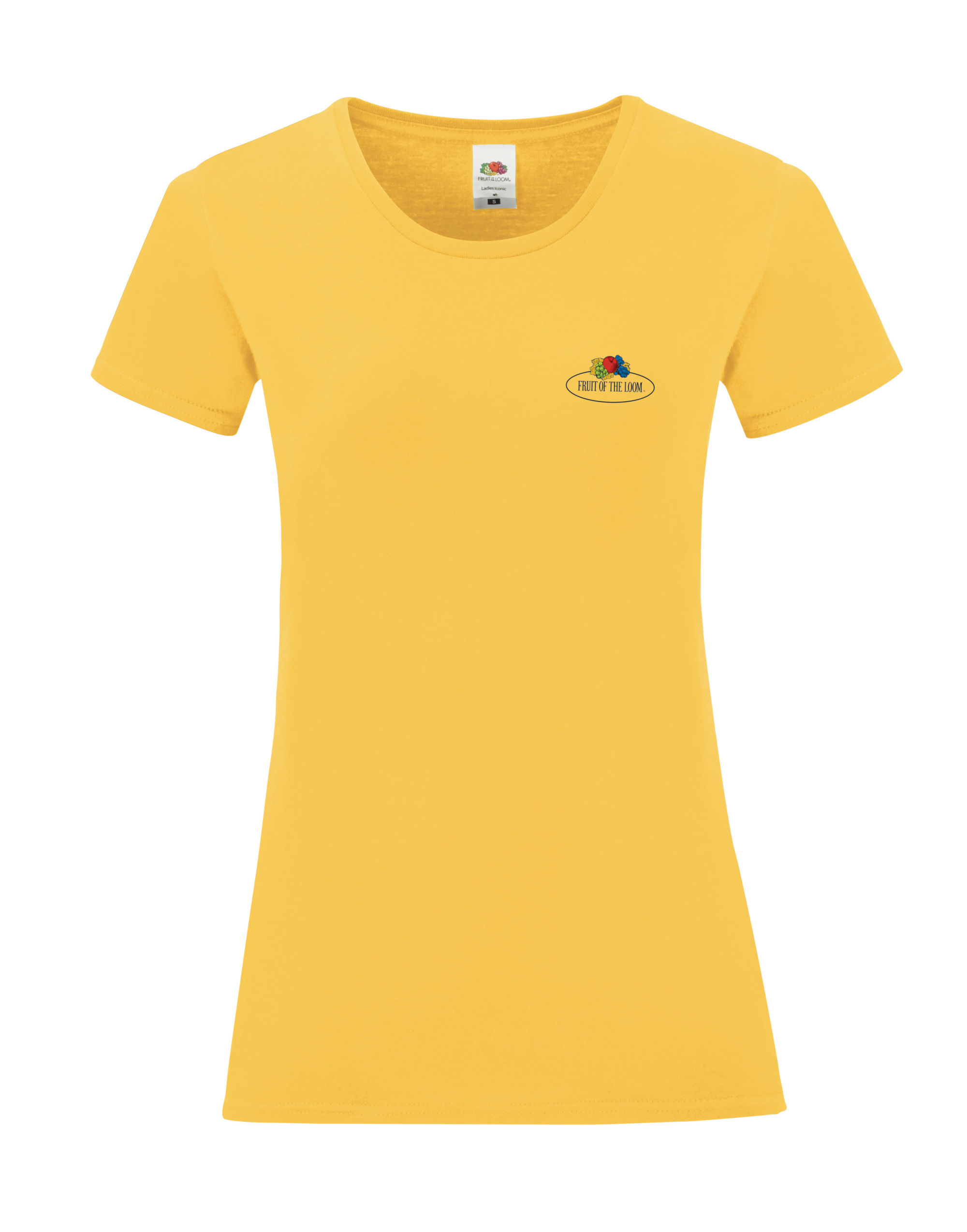 Fruit Of The Loom Retail Vintage Ladies' Tee with Small Logo