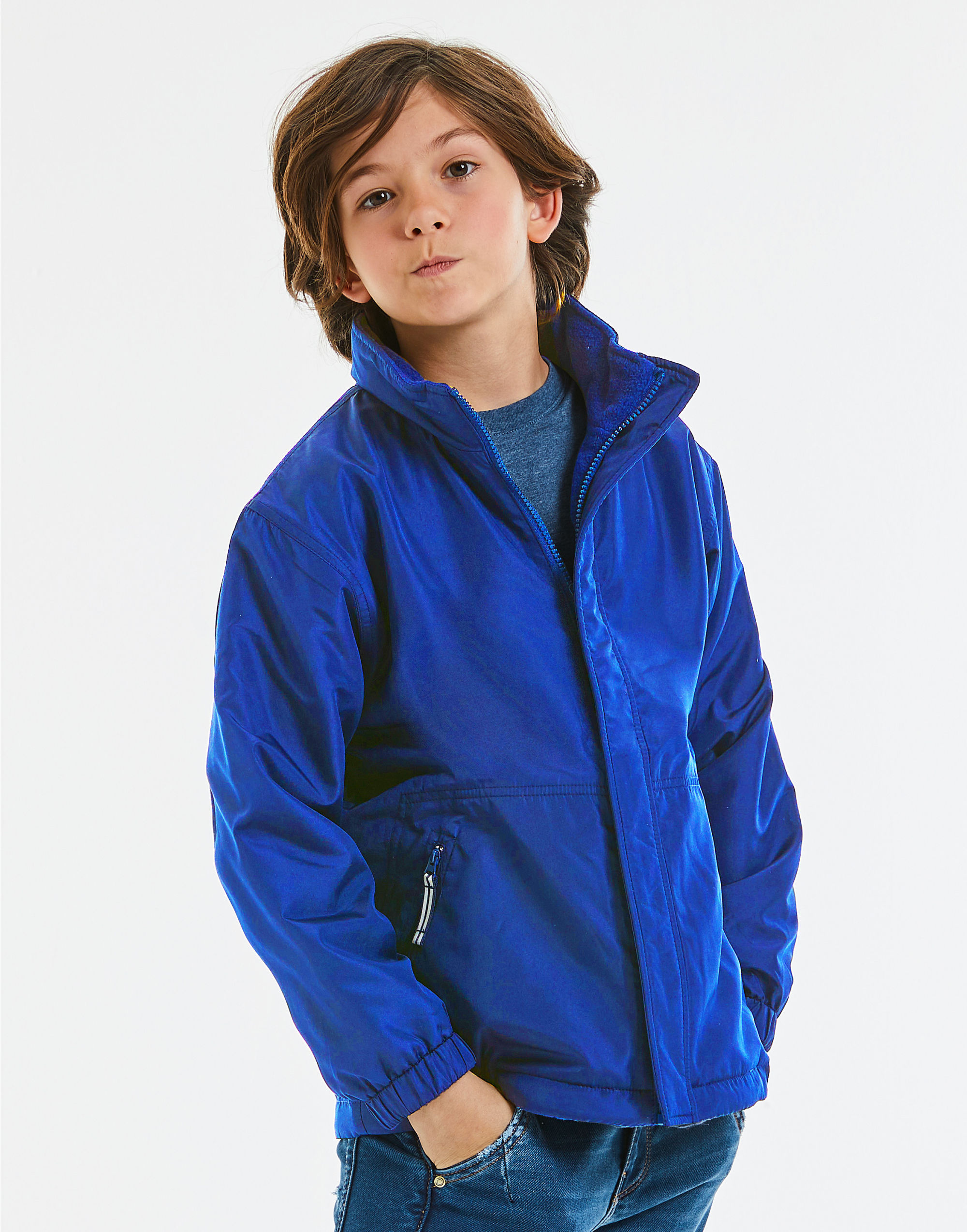 Jerzees Schoolgear Children's Reversible Jacket