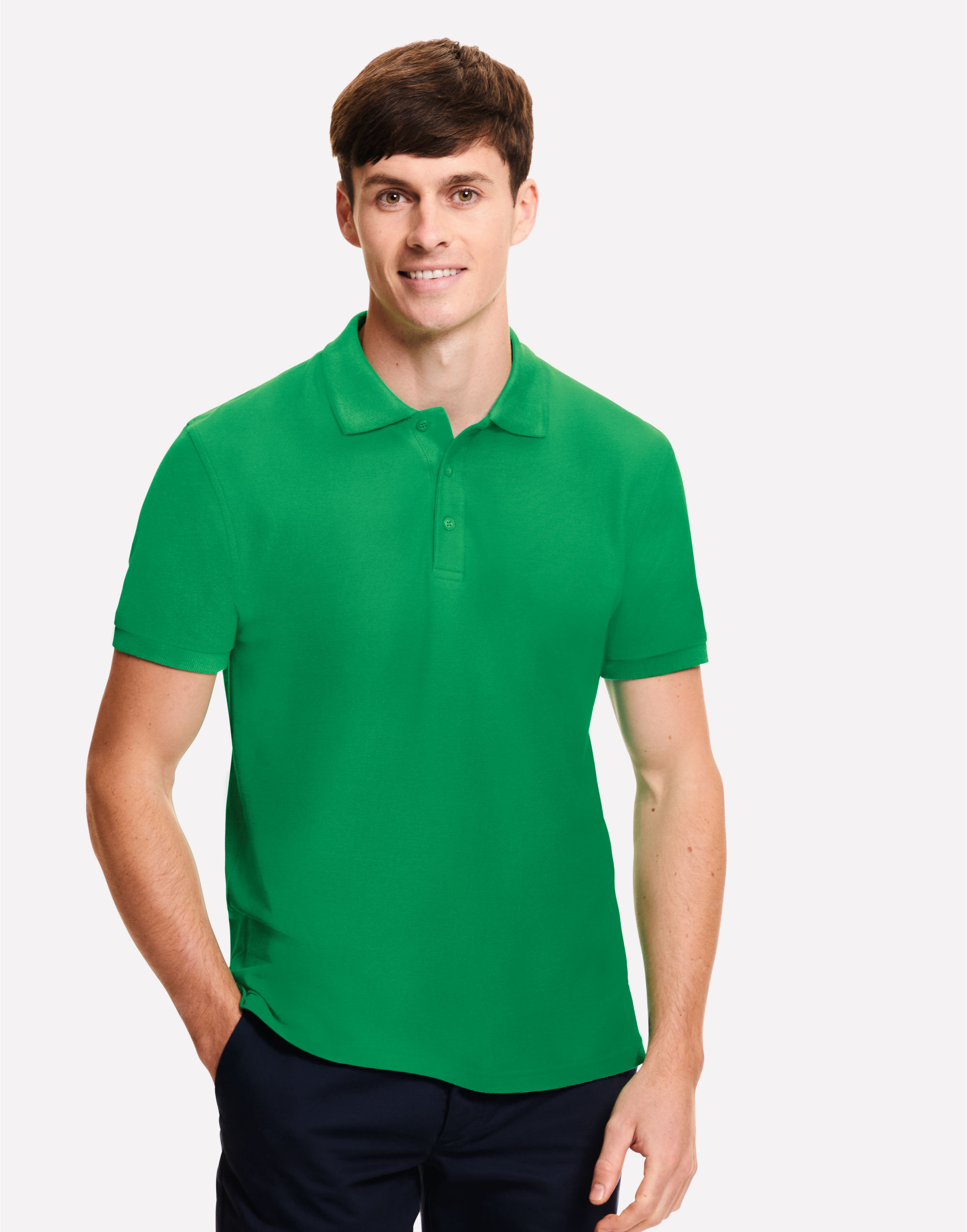 Fruit Of The Loom Men's Iconic Polo