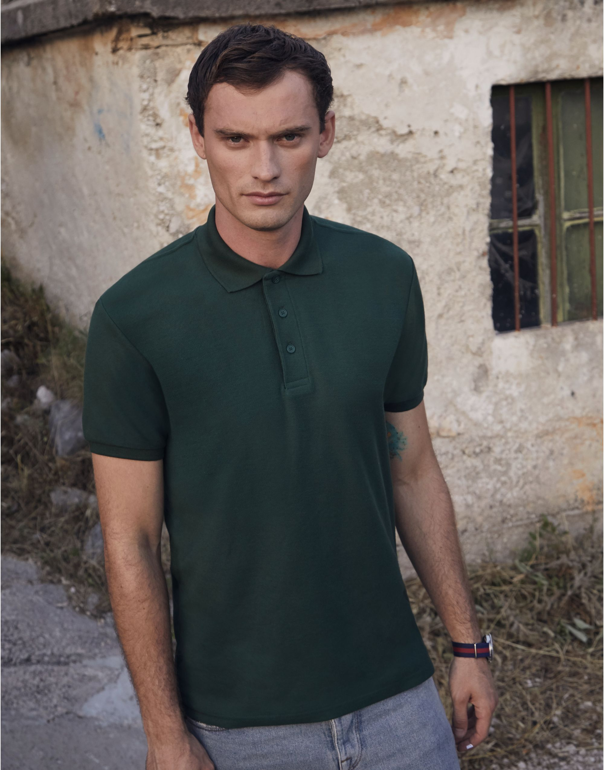 Fruit Of The Loom Men's 65/35 Heavy Polo
