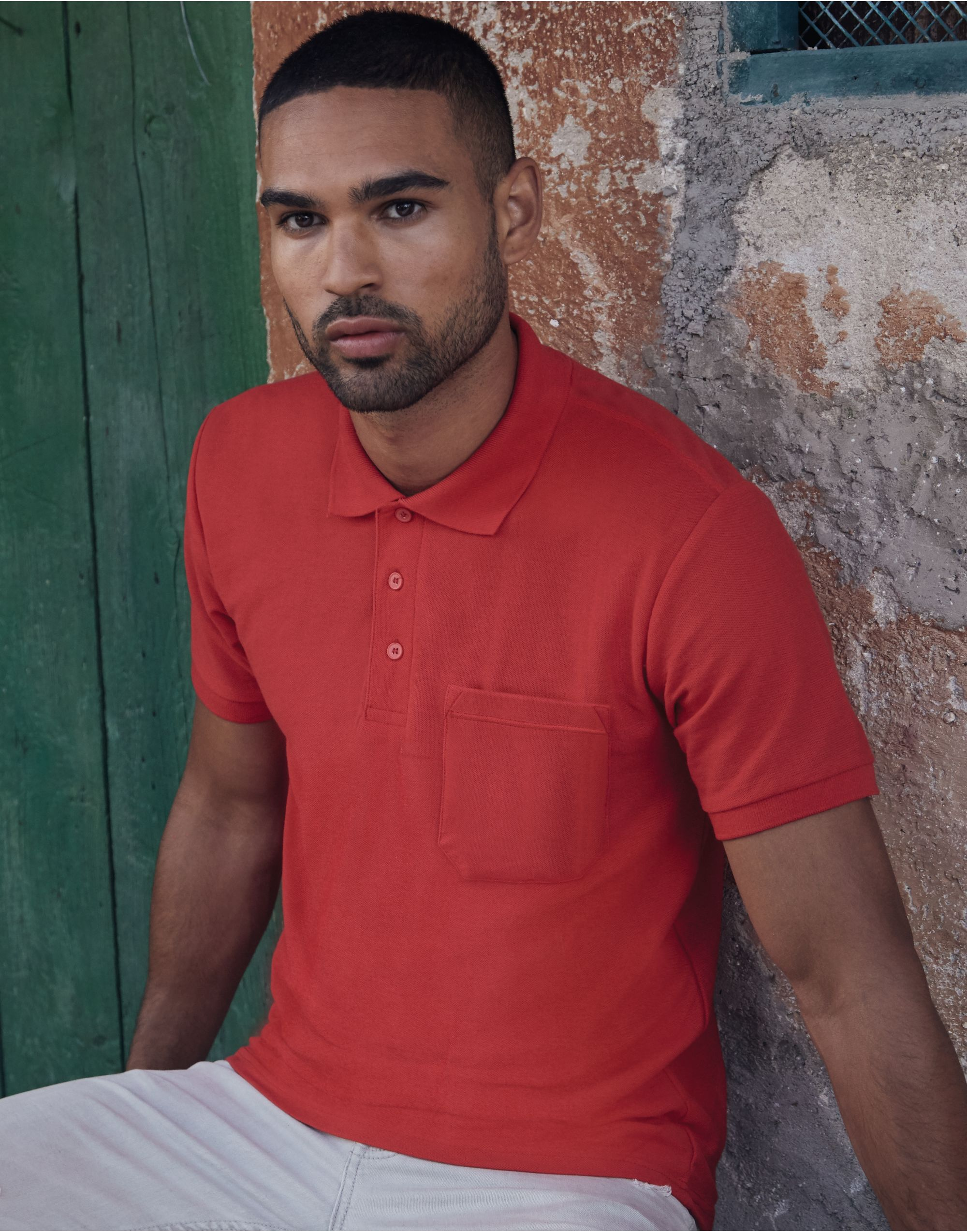 Fruit Of The Loom Men's 65/35 Pocket Polo