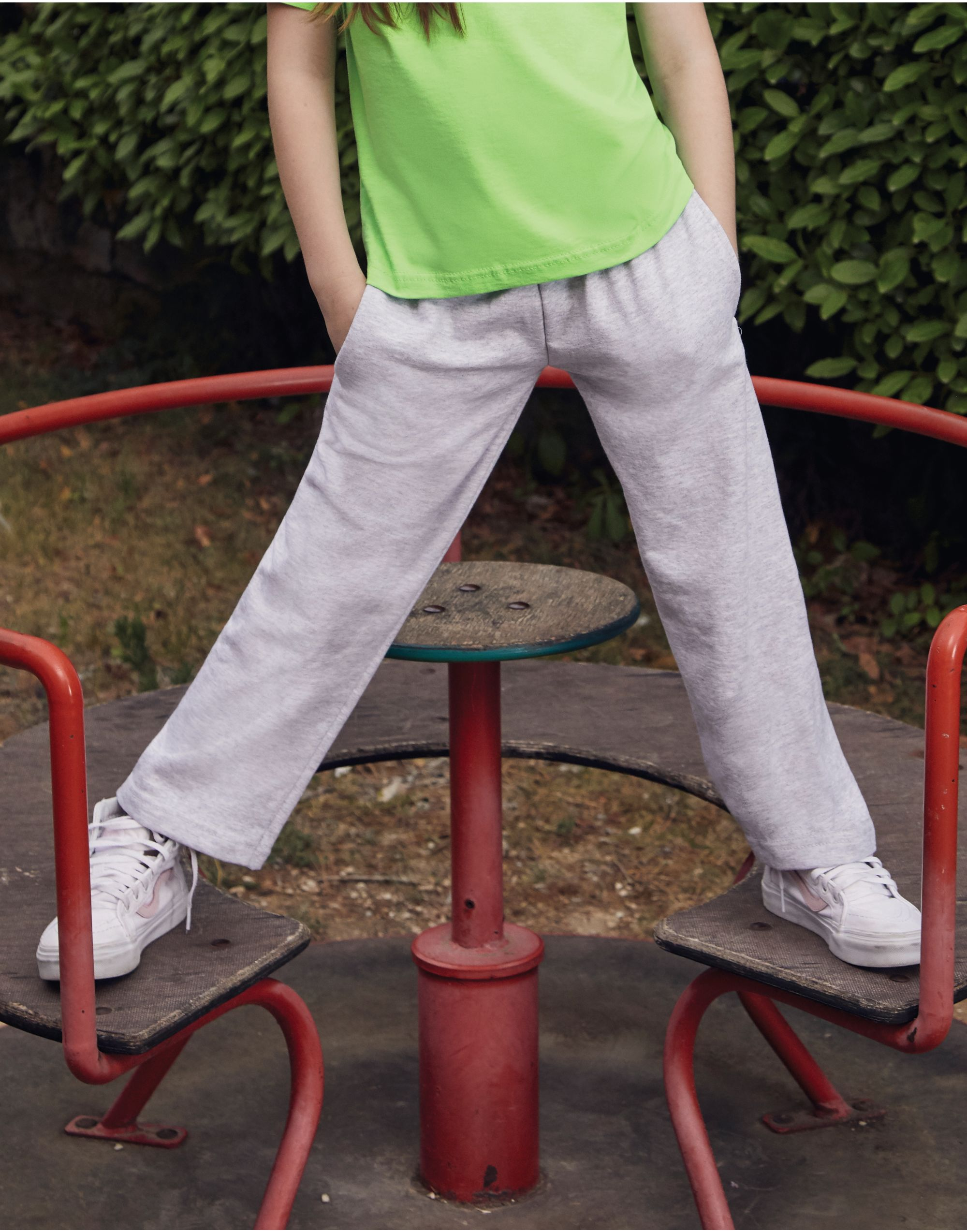 Fruit Of The Loom Kidn's Lightweight Open Hem Jog Pant