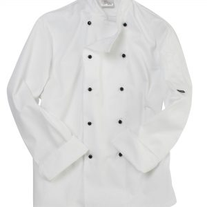 Dennys Removable Stud Long Sleeve Chef's Jacket