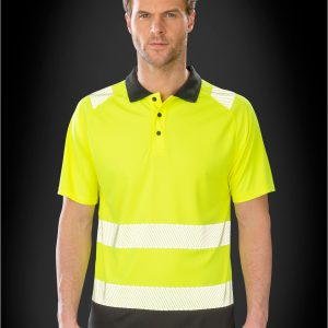 Result Genuine Recycled Recycled Safety Polo Shirt