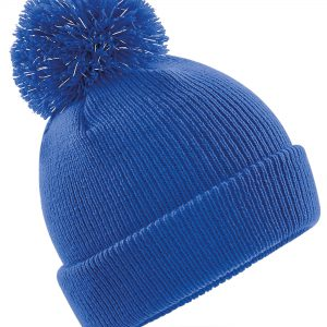 Beechfield  Junior Reflective Bobble Beanie