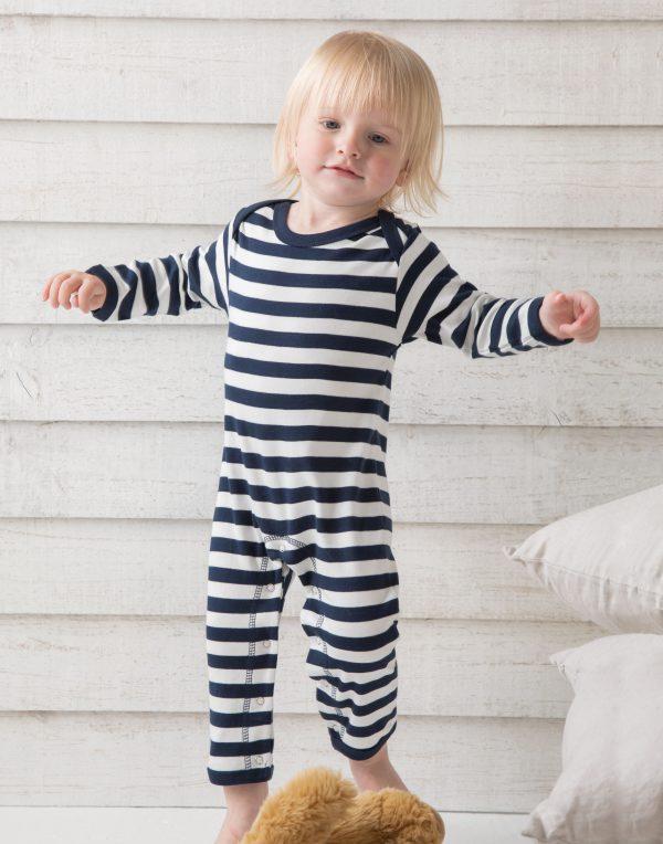 Babybugz Baby Stripy Rompasuit