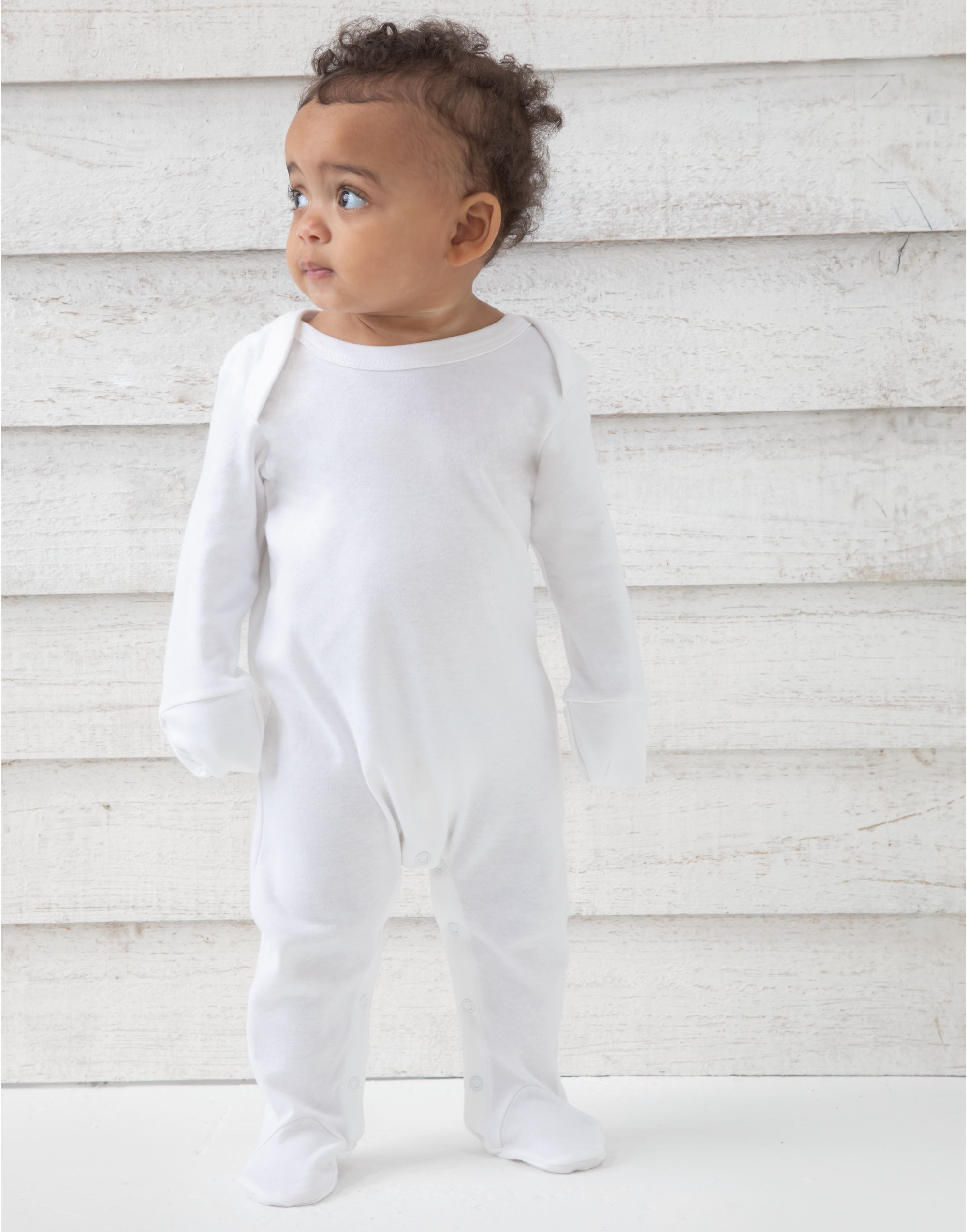 Babybugz Baby Organic Sleepsuit with Scratch Mitts