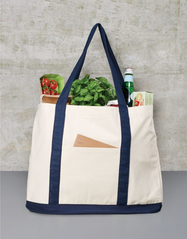 Bags By Jassz Canvas Shopping Bag