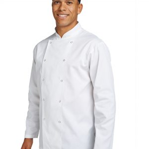 Dennys Budget Long Sleeve Chefs Jacket