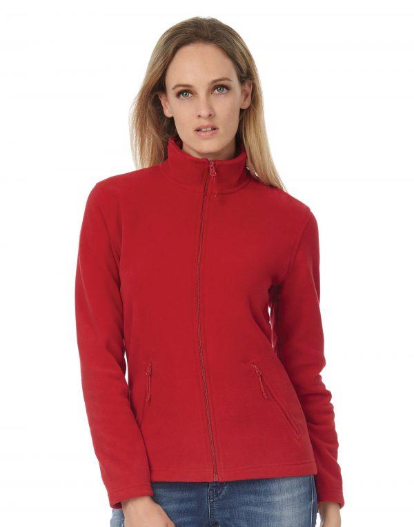 B&C ID.501 Women's Micro Fleece Full Zip