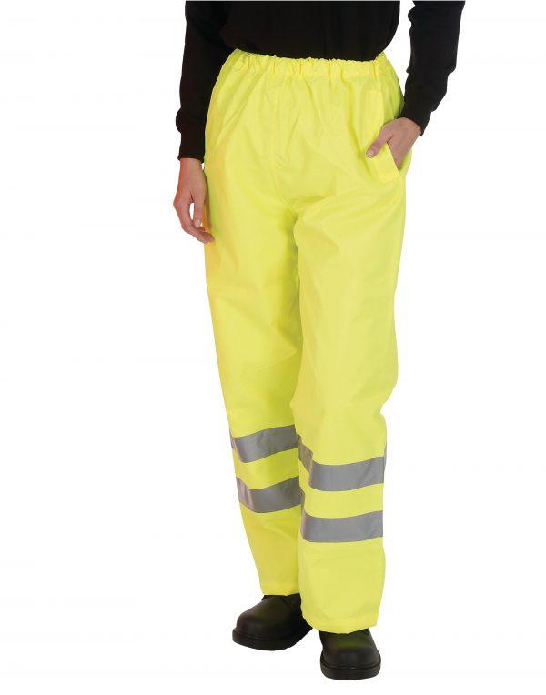Yoko Hi-Vis Waterproof Over Trousers