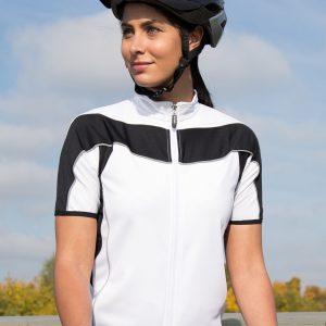 Spiro Ladies' Bikewear Short Sleeve Performance Top
