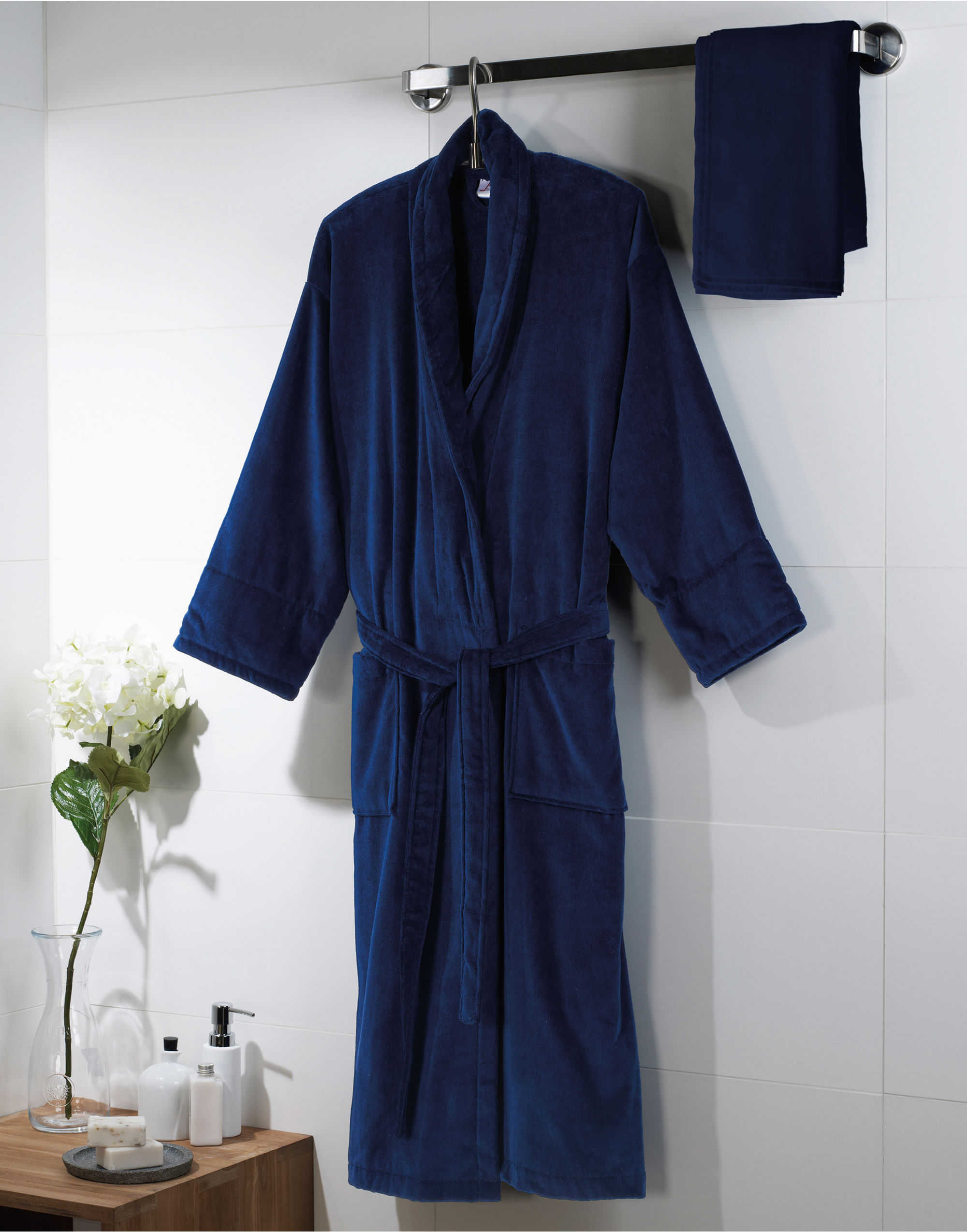 Towels By Jassz Como Velours Bath Robe