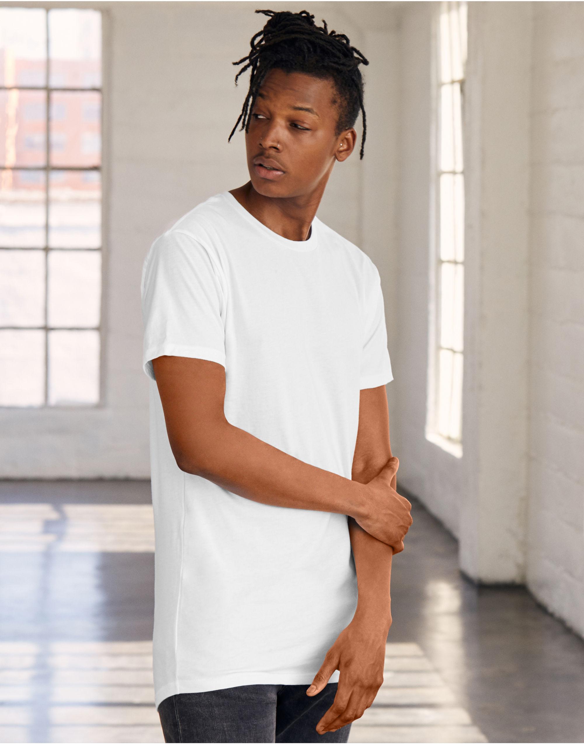 Bella Canvas Men's Long Body Urban Tee