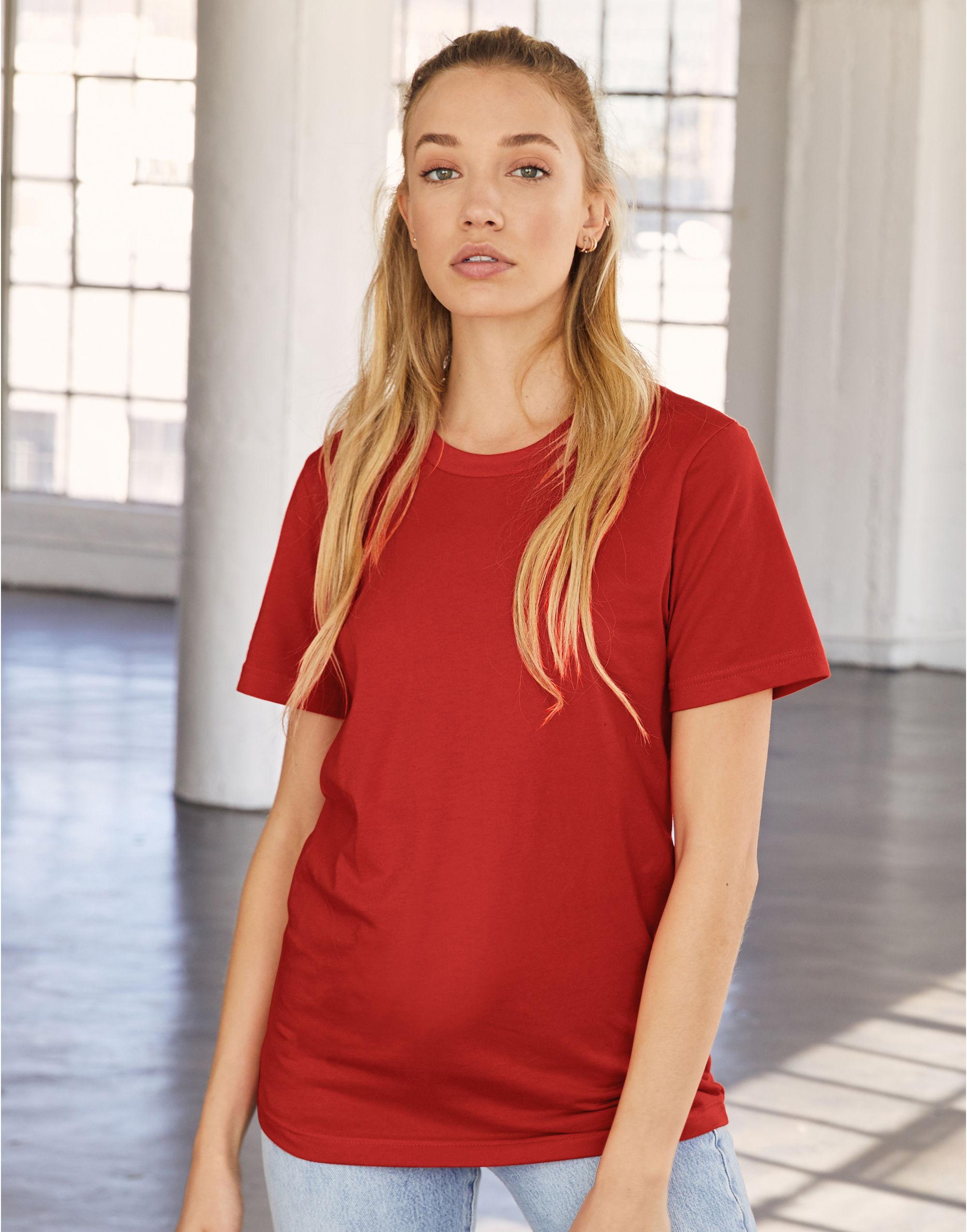 Bella Women's Relaxed Jersey Short Sleeve Tee