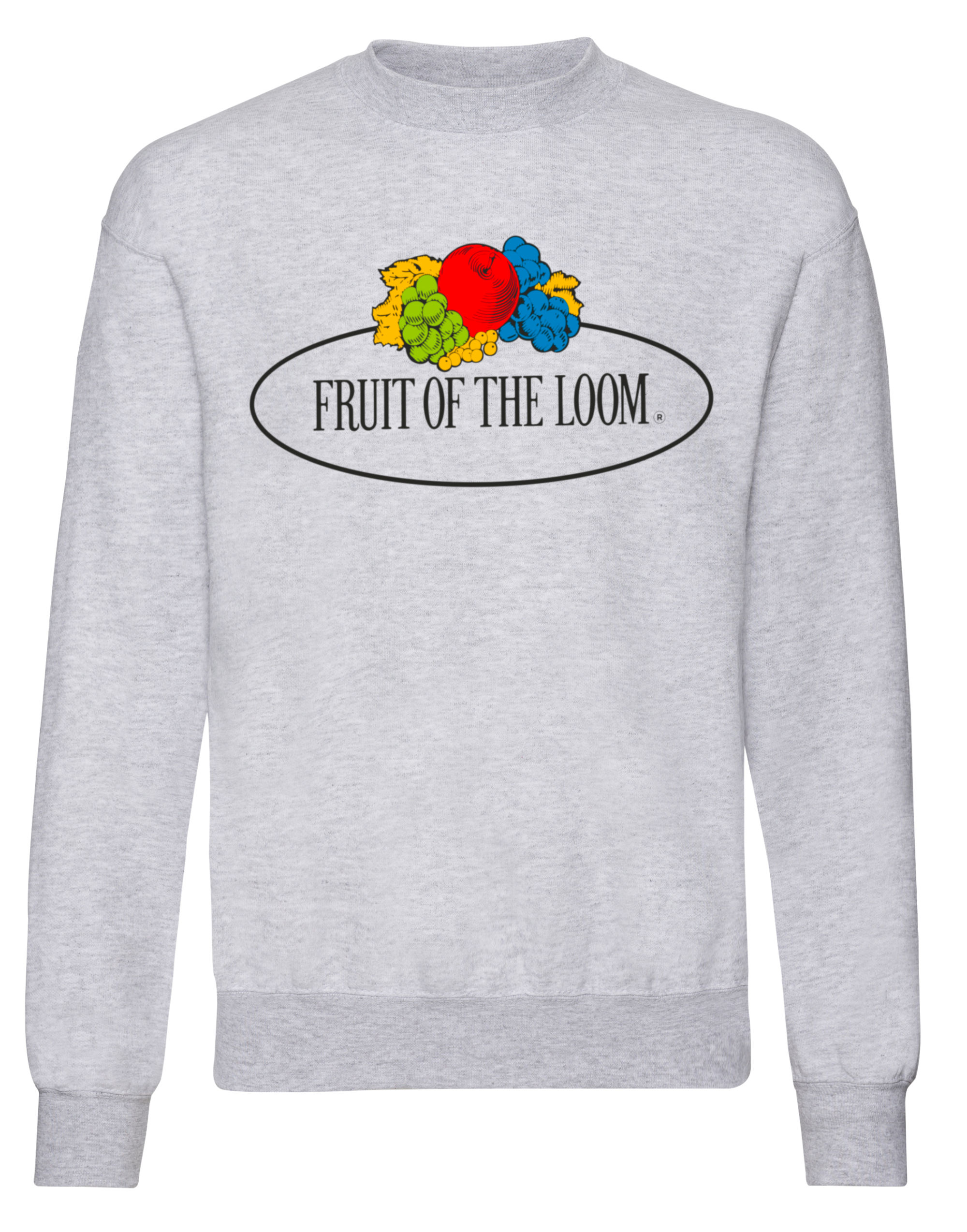 Fruit Of The Loom Retail Vintage Set-In Sweat with Large Logo