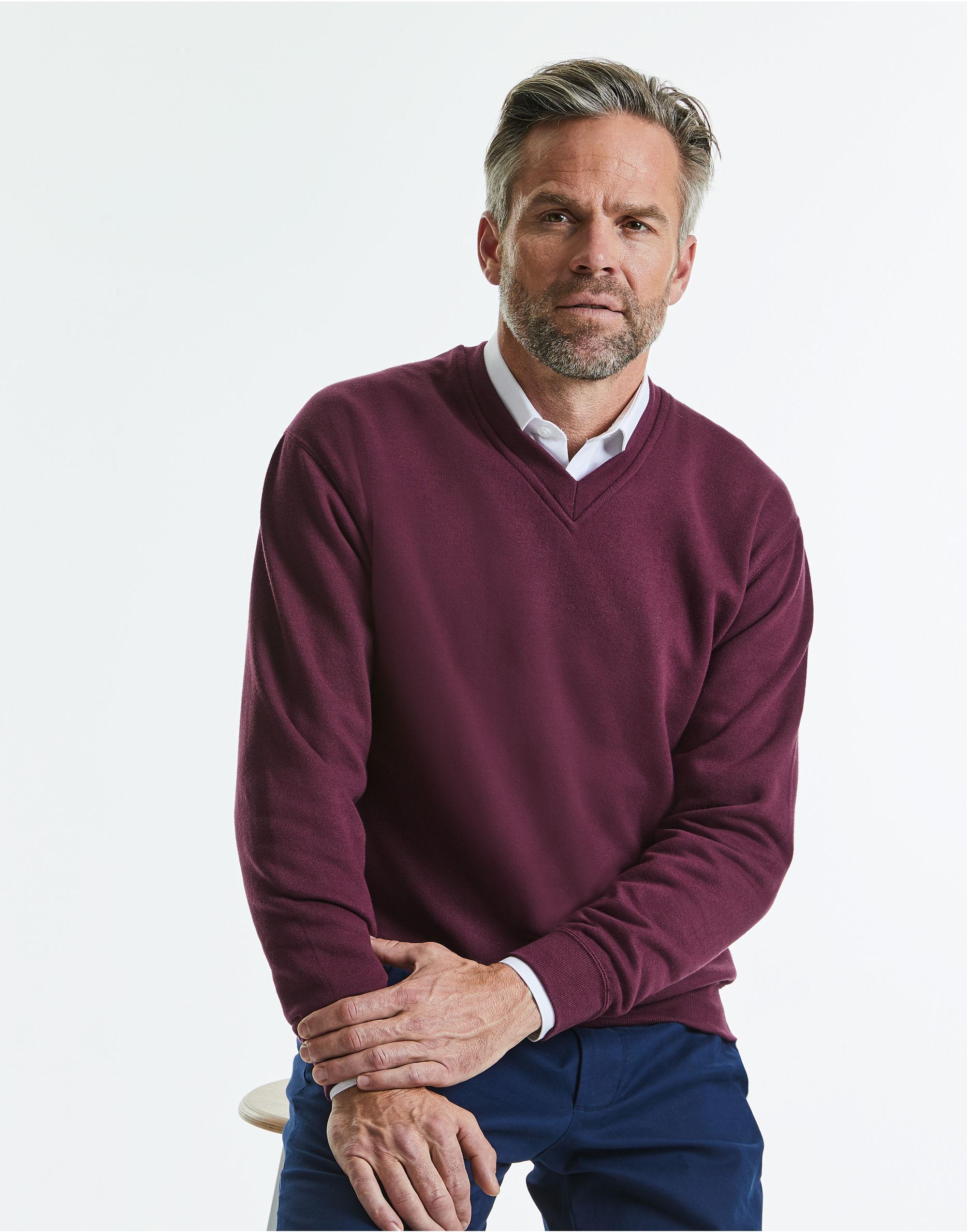 Russell Adult V-Neck Sweatshirt