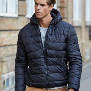 Tee Jays Men's Hooded Zepelin Jacket