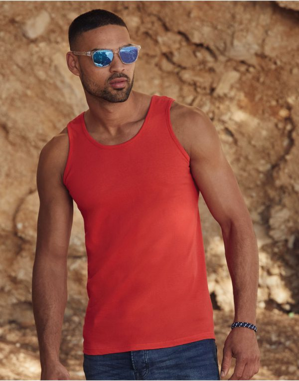 Fruit Of The Loom Men's Valueweight Athletic Vest
