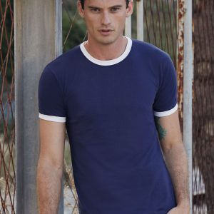 Fruit Of The Loom Men's Valueweight Ringer T-Shirt