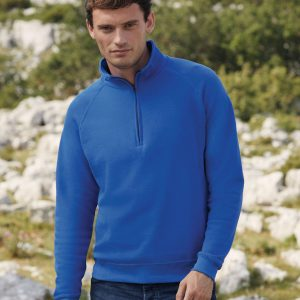 Fruit Of The Loom Men's Classic Zip Neck Sweat