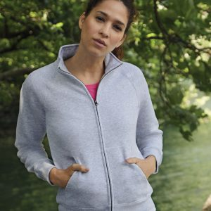 Fruit Of The Loom Ladies' Premium Sweat Jacket