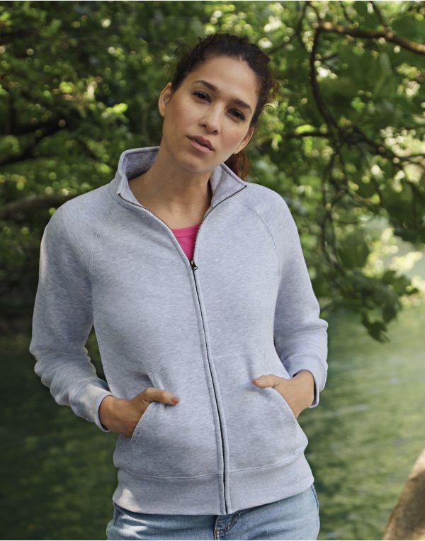 Fruit Of The Loom Ladies' Premium Sweat Jacket