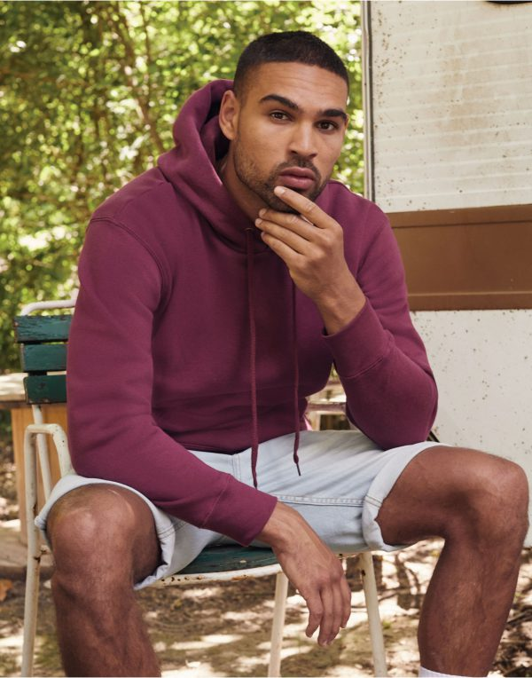 Fruit Of The Loom Men's Premium Hooded Sweat