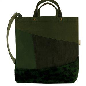 Bags By Jassz Satomi Faux Fur Shopper
