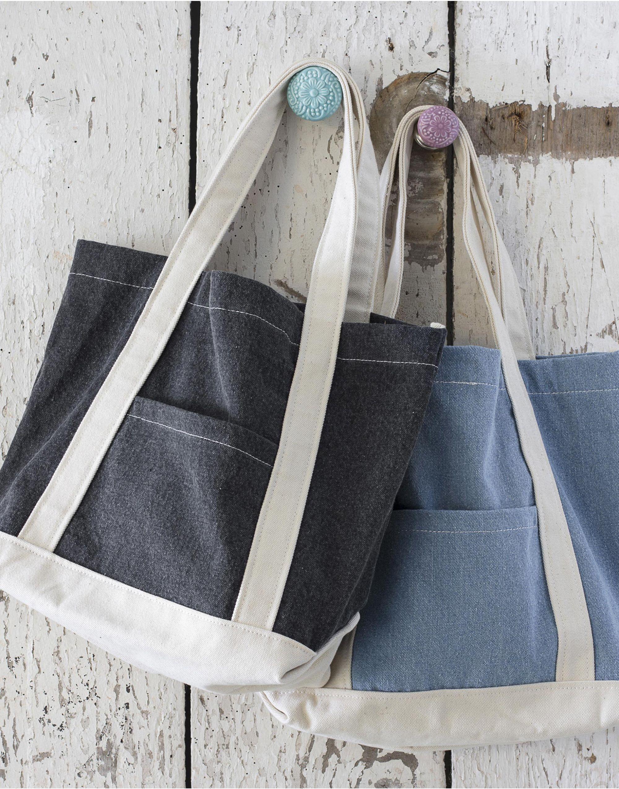 Bags By Jassz Canvas Denim Shopper