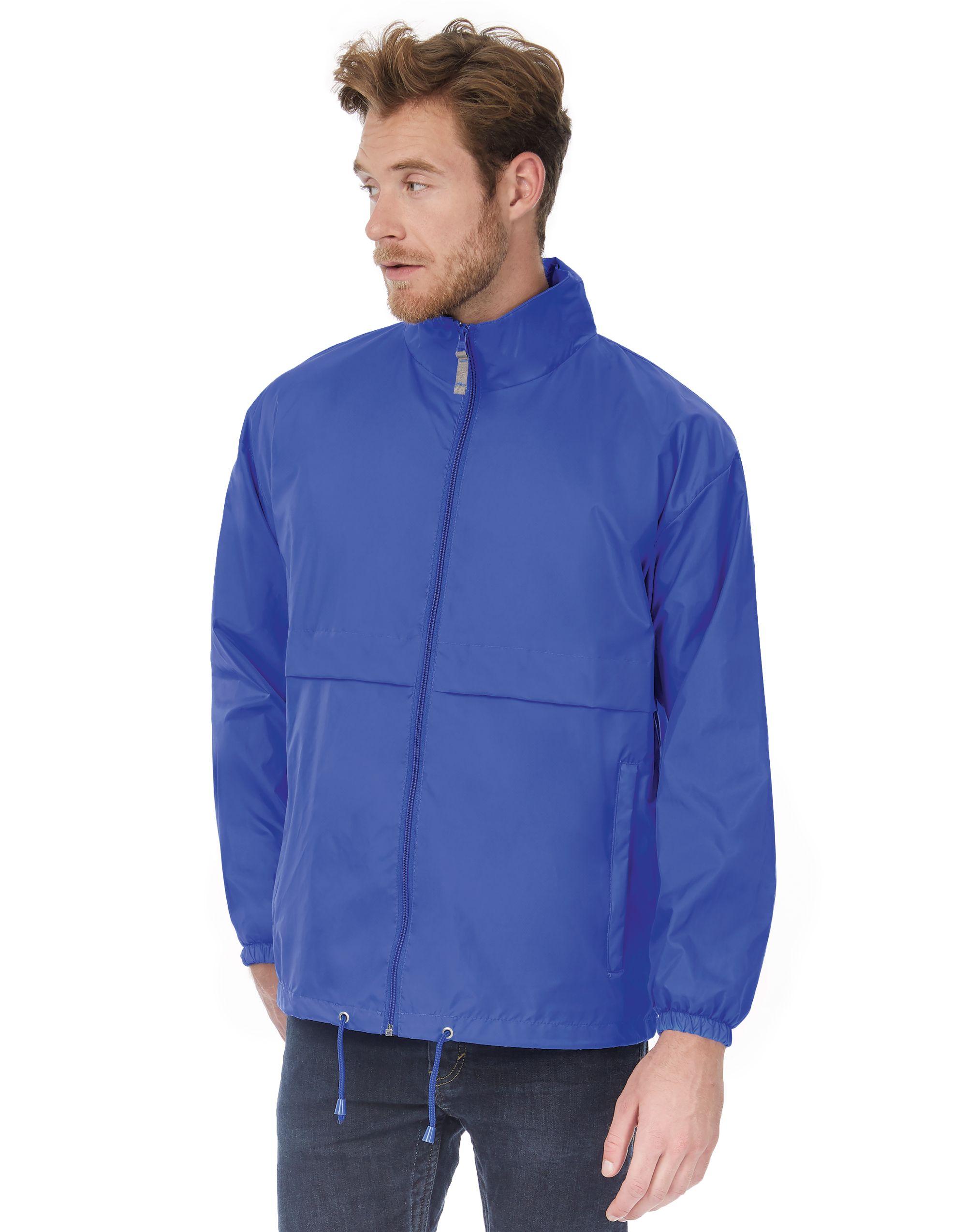B&C Men's Air Windbreaker Jacket