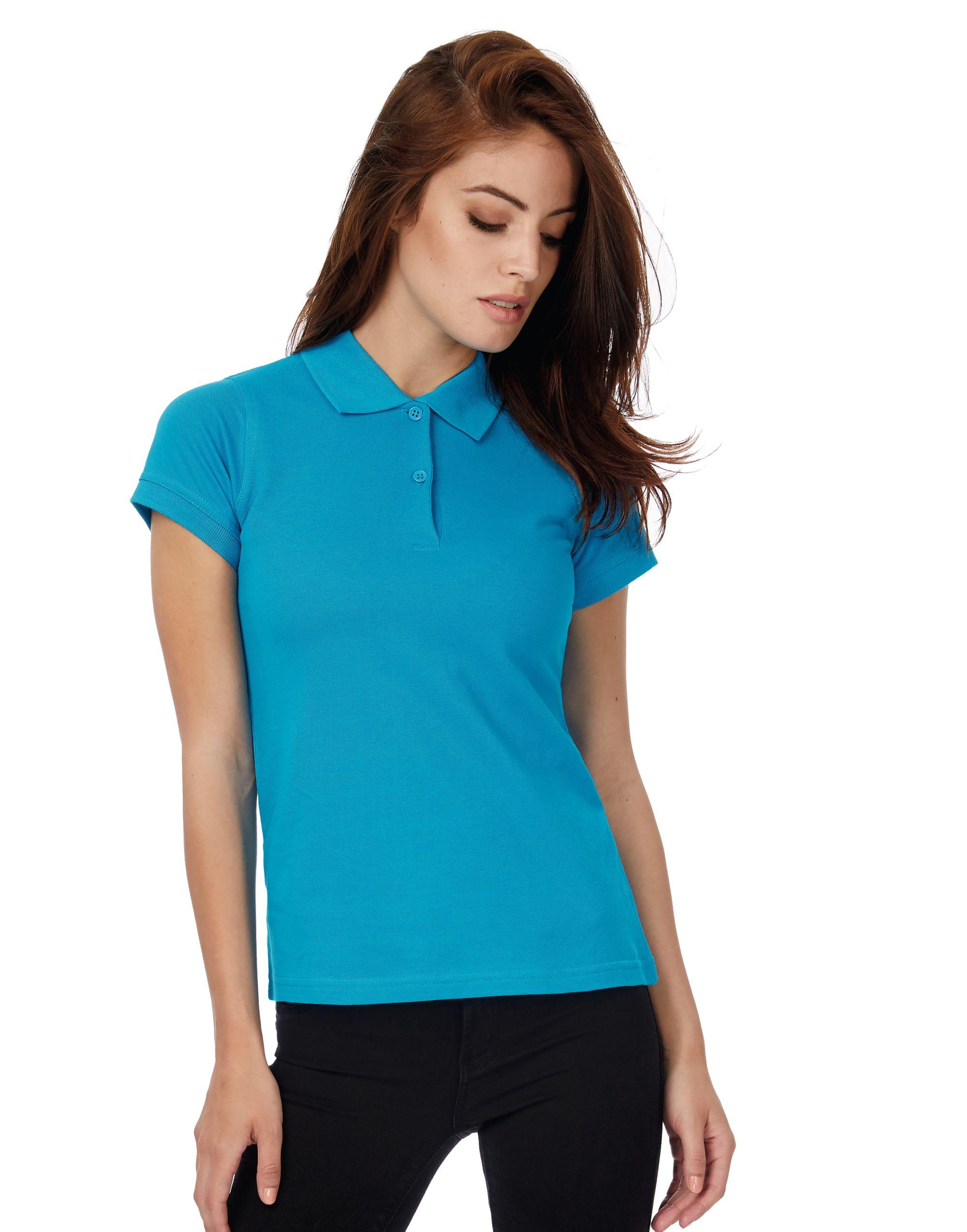 B&C Women's Safran Pure Polo Shirt