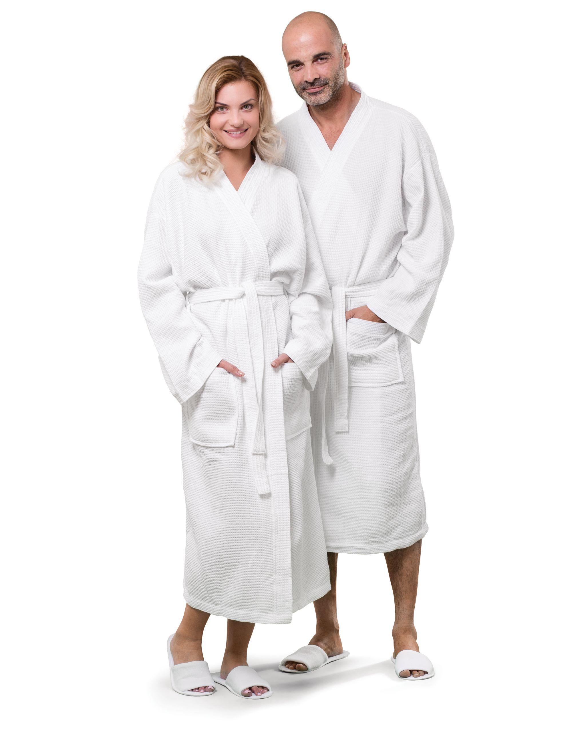 Towels By Jassz Constance Waffle Pique Bath Robe