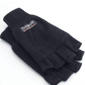 Yoko 3M Thinsulate™ Half Finger Gloves