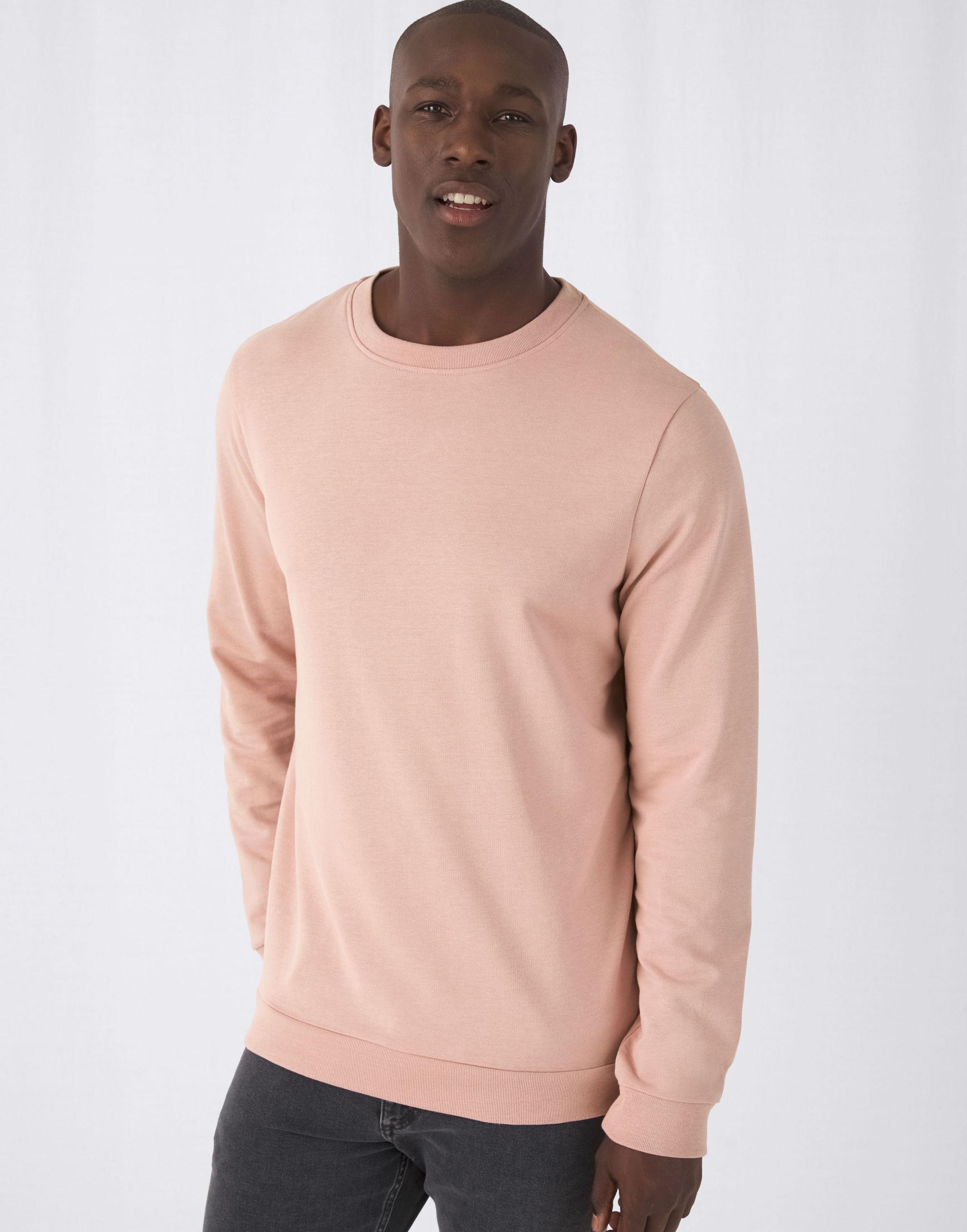 B&C Men's #Set In Sweatshirt