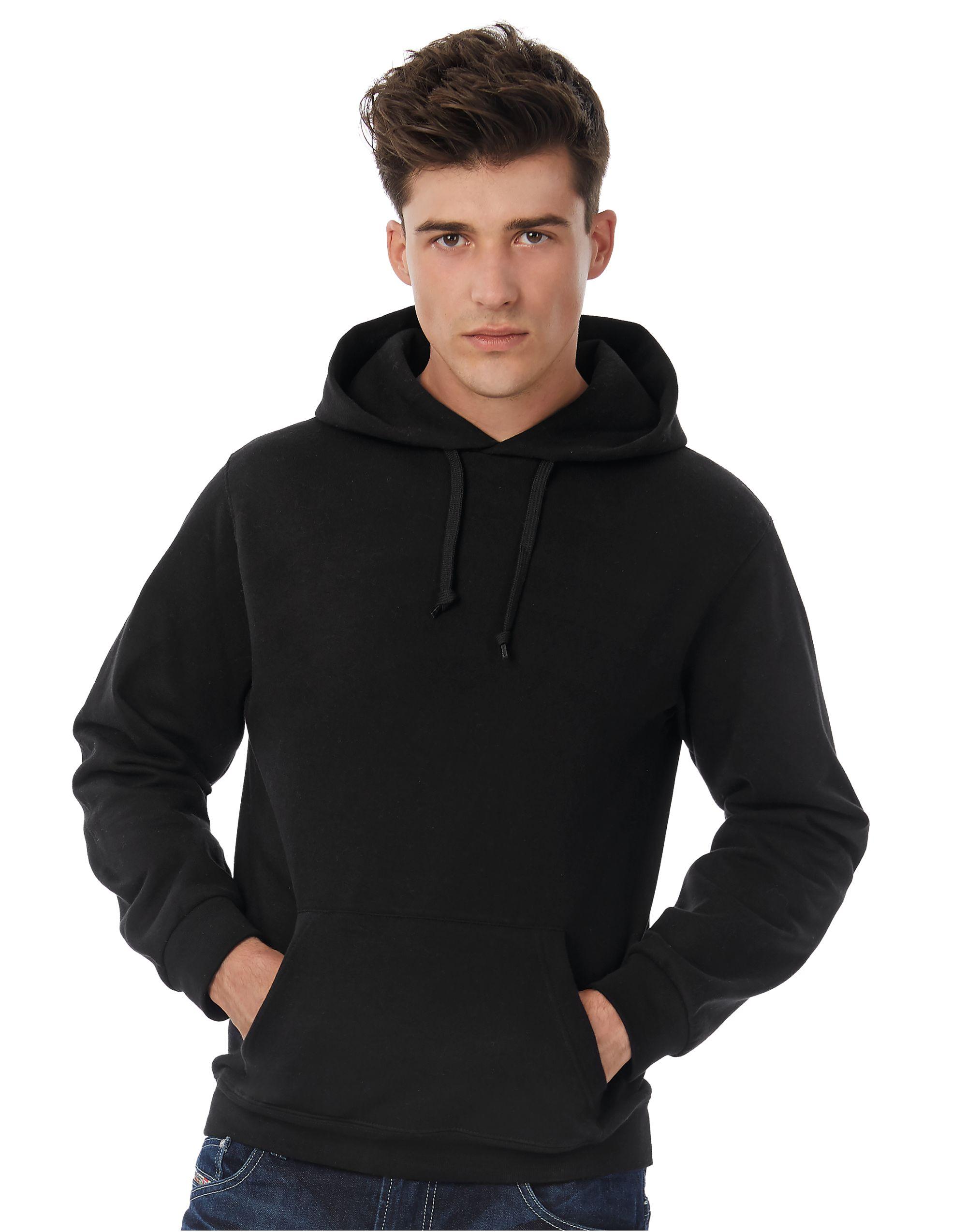 B&C ID.003 Cotton Rich Hooded Sweatshirt